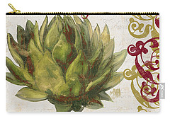 Cucina Italiana Artichoke Carry-all Pouch by Mindy Sommers