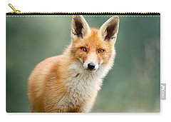 Curious Fox Carry-all Pouch by Roeselien Raimond