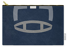 Dallas Cowboys Vintage Art Carry-all Pouch by Joe Hamilton