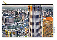 Dallas Hdr Carry-all Pouch by Douglas Barnard