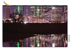 Dallas Lights Carry-all Pouch by Frozen in Time Fine Art Photography