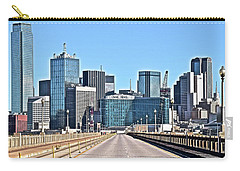 Dallas Straight Ahead In 2016 Carry-all Pouch by Frozen in Time Fine Art Photography