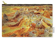 Dallol Volcanic Crater, Danakil Depression, Ethiopia Carry-all Pouch by Aidan Moran
