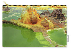 Dallol Volcanic Crater, Ethiopia Carry-all Pouch by Aidan Moran