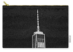 Dark Side Of The City Carry-all Pouch by Sandy Taylor