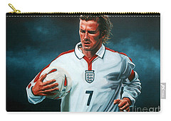 David Beckham Carry-all Pouch by Paul Meijering