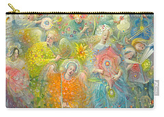 Daydream After The Music Of Max Reger Carry-all Pouch by Annael Anelia Pavlova