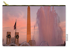Dc Sunset Carry-all Pouch by Betsy Knapp