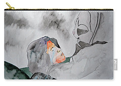 Dean Deleo - Stone Temple Pilots - Music Inspiration Series Carry-all Pouch by Carol Crisafi