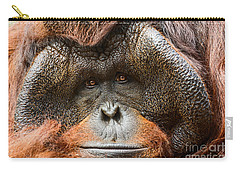 Deep In Thought Carry-all Pouch by Jamie Pham