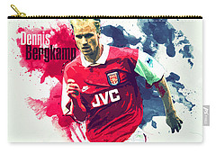 Dennis Bergkamp Carry-all Pouch by Semih Yurdabak