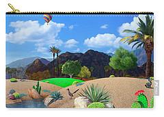 Desert Splendor Carry-all Pouch by Snake Jagger