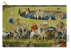 Detail From The Central Panel Of The Garden Of Earthly Delights Carry-all Pouch by Hieronymus Bosch