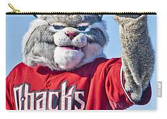 Diamondbacks Mascot Baxter Carry-all Pouch by Jon Berghoff