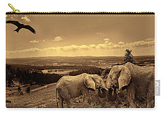 Dignified Rank Carry-all Pouch by Lourry Legarde