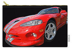 Dodge Viper Gts Carry-all Pouch by Gill Billington