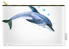 Dolphin Carry-all Pouch by Suren Nersisyan