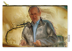 Donald Rumsfeld Carry-all Pouch by Brian Reaves