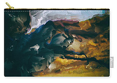 Donald Rumsfeld Gwot Vision Carry-all Pouch by Brian Reaves