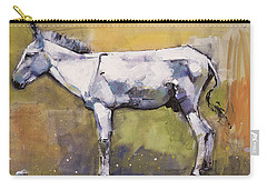 Donkey Stallion, Ronda Carry-all Pouch by Mark Adlington
