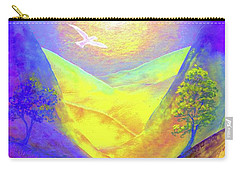 Dove Valley Carry-all Pouch by Jane Small