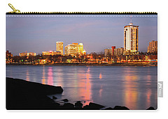 Downtown Tulsa Oklahoma - University Tower View Carry-all Pouch by Gregory Ballos