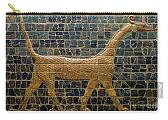 Dragon Of Marduk - On The Ishtar Gate Carry-all Pouch by Anonymous