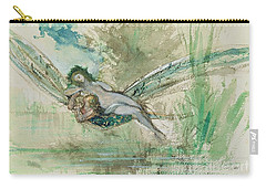 Dragonfly Carry-all Pouch by Gustave Moreau