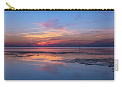 Carry-all Pouch featuring the photograph Draw The Line by Thierry Bouriat