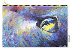 Dreamer Tubby Cat Painting Carry-all Pouch by Svetlana Novikova