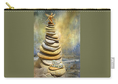 Dreaming Stones Carry-all Pouch by Carol Cavalaris