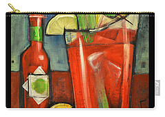 Drink Your Vegetables Poster Carry-all Pouch by Tim Nyberg