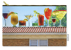 Drinks On The House Carry-all Pouch by Nikolyn McDonald