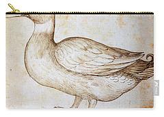 Duck Carry-all Pouch by Leonardo Da Vinci