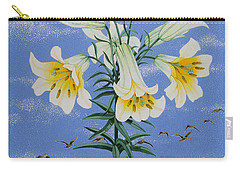 Early Birds Carry-all Pouch by Pat Scott