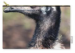 Earnest Emu Carry-all Pouch by Lisa S Baker