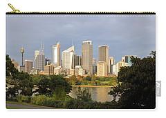 Eastern Sydney Skyline Carry-all Pouch by Nicholas Blackwell