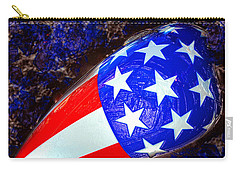 Easy Rider Movie Poster A Carry-all Pouch by David Lee Thompson