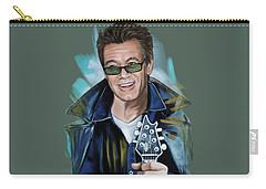 Eddie Van Halen Carry-all Pouch by Melanie D