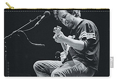 Eddie Vedder Playing Live Carry-all Pouch by Marco Oliveira