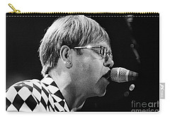 Elton John-0143 Carry-all Pouch by Gary Gingrich Galleries