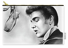 Elvis Presley Carry-all Pouch by Greg Joens