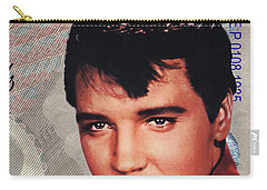 Elvis Presley Carry-all Pouch by Unknown