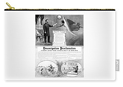 Emancipation Proclamation Carry-all Pouch by War Is Hell Store