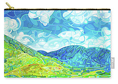 Emerald Moments Carry-all Pouch by Mandy Budan