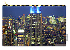 Empire State Building Carry-all Pouch by Inge Johnsson