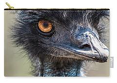 Emu Eyes Carry-all Pouch by Paul Freidlund