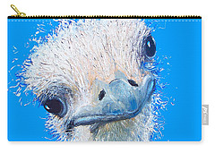 Emu Painting Carry-all Pouch by Jan Matson