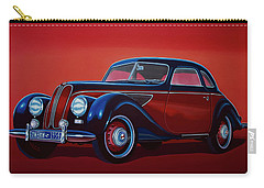 Emw Bmw 1951 Painting Carry-all Pouch by Paul Meijering