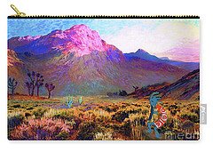 Enchanted Kokopelli Dawn Carry-all Pouch by Jane Small